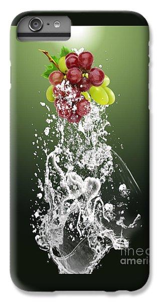 Grape Splash IPhone 6s Plus Case by Marvin Blaine