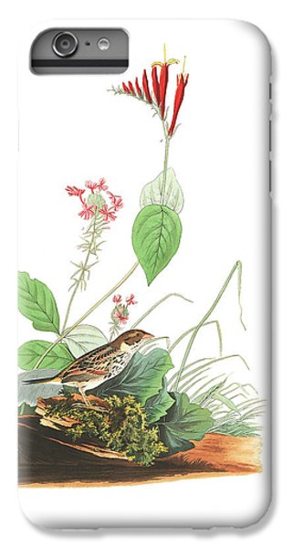 Henslow's Bunting  IPhone 6s Plus Case by John James Audubon