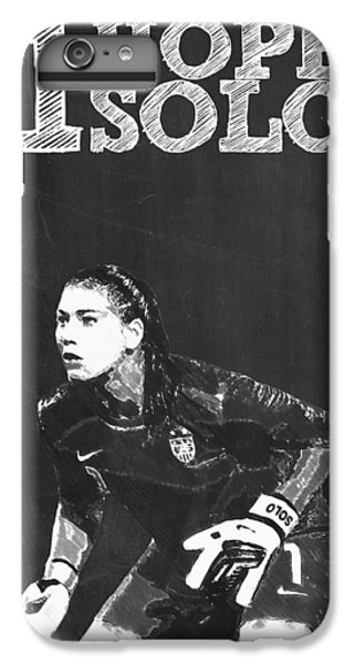 Hope Solo IPhone 6s Plus Case by Semih Yurdabak