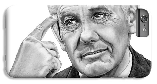 Johnny Carson IPhone 6s Plus Case by Murphy Elliott