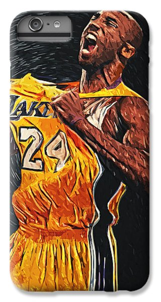 Kobe Bryant IPhone 6s Plus Case by Taylan Apukovska
