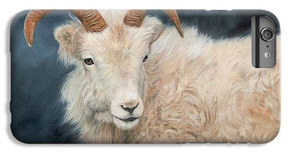 Mountain Goat IPhone 6s Plus Case by David Stribbling