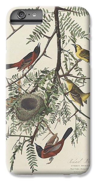 Orchard Oriole IPhone 6s Plus Case by John James Audubon