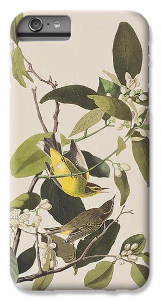 Palm Warbler IPhone 6s Plus Case by John James Audubon