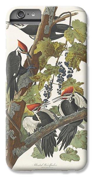 Pileated Woodpecker IPhone 6s Plus Case by John James Audubon