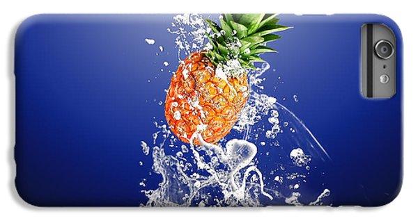 Pineapple Splash IPhone 6s Plus Case by Marvin Blaine