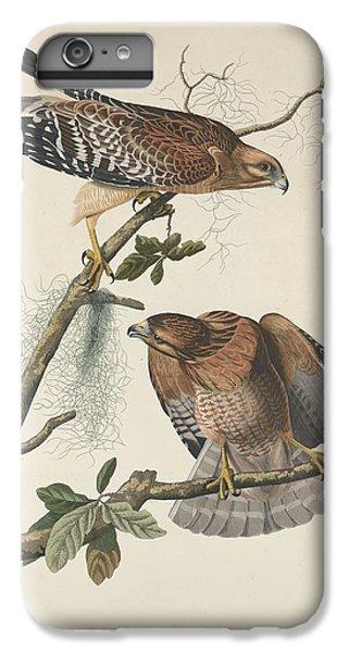 Red Shouldered Hawk IPhone 6s Plus Case by John James Audubon
