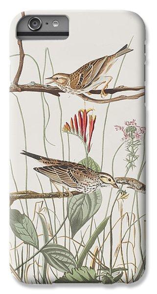 Savannah Finch IPhone 6s Plus Case by John James Audubon