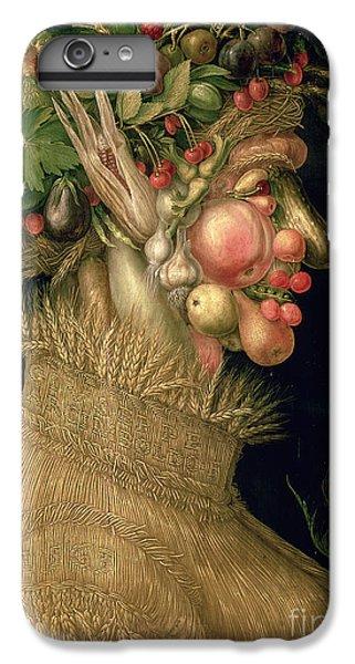 Summer IPhone 6s Plus Case by Giuseppe Arcimboldo