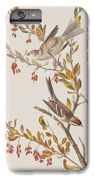 Tree Sparrow IPhone 6s Plus Case by John James Audubon