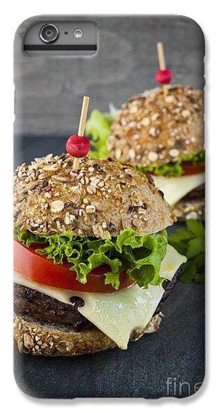 Two Gourmet Hamburgers IPhone 6s Plus Case by Elena Elisseeva