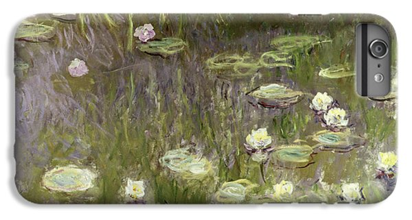 Waterlilies At Midday IPhone 6s Plus Case by Claude Monet