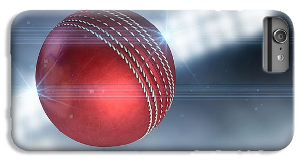 Ball Flying Through The Air IPhone 6s Plus Case by Allan Swart