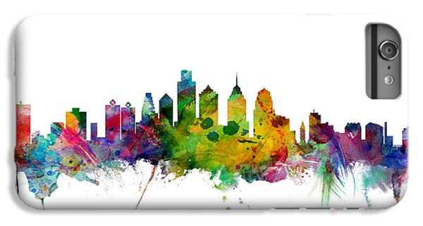 Philadelphia Pennsylvania Skyline IPhone 6s Plus Case by Michael Tompsett