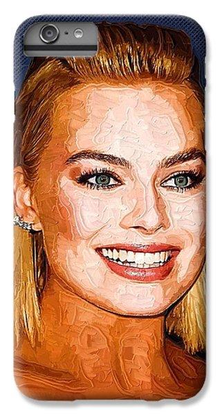Margot Robbie Art IPhone 6s Plus Case by Best Actors