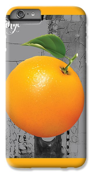 Orange Collection IPhone 6s Plus Case by Marvin Blaine