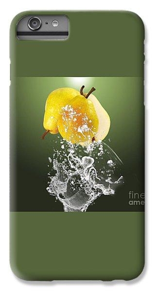 Pear Splash Collection IPhone 6s Plus Case by Marvin Blaine