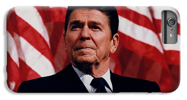 President Ronald Reagan IPhone 6s Plus Case by War Is Hell Store