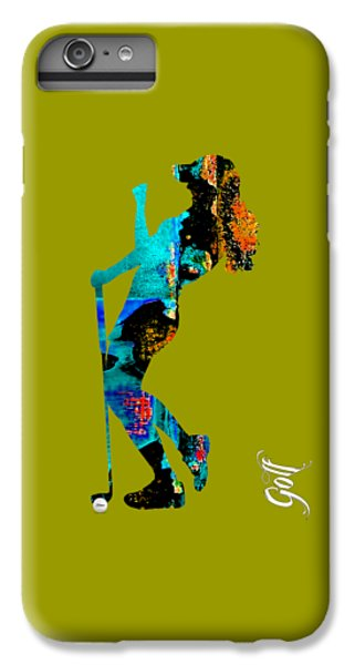Womens Golf Collection IPhone 6s Plus Case by Marvin Blaine