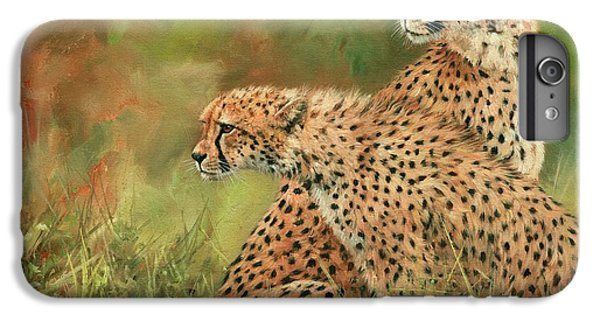 Cheetahs IPhone 6s Plus Case by David Stribbling