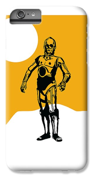 Star Wars C-3po Collection IPhone 6s Plus Case by Marvin Blaine