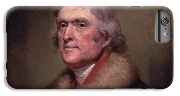 President Thomas Jefferson IPhone 6s Plus Case by War Is Hell Store
