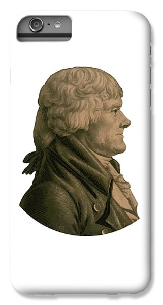 Thomas Jefferson IPhone 6s Plus Case by War Is Hell Store