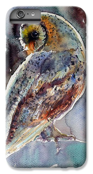 Barn Owl IPhone 6s Plus Case by Kovacs Anna Brigitta