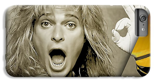David Lee Roth Collection IPhone 6s Plus Case by Marvin Blaine