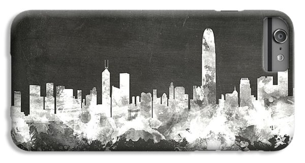 Hong Kong Skyline IPhone 6s Plus Case by Michael Tompsett