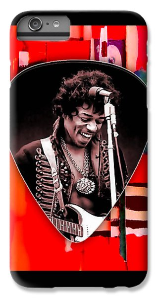 Jimi Hendrix Guitar Pick Collection IPhone 6s Plus Case by Marvin Blaine
