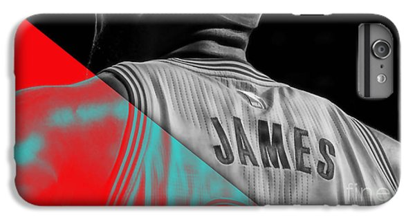 Lebron James Collection IPhone 6s Plus Case by Marvin Blaine
