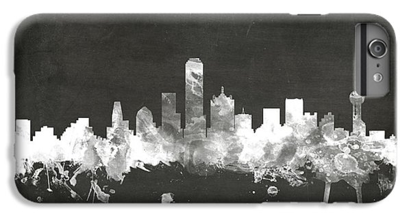 Dallas Texas Skyline IPhone 6s Plus Case by Michael Tompsett