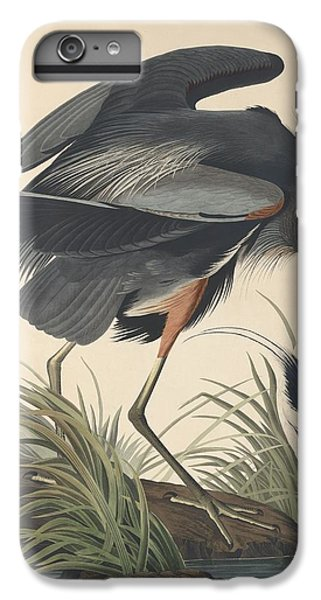 Great Blue Heron IPhone 6s Plus Case by John James Audubon