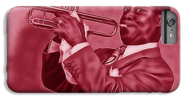 Louis Armstrong Collection IPhone 6s Plus Case by Marvin Blaine