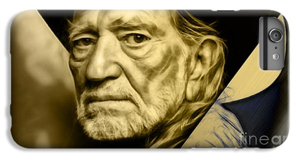 Willie Nelson Collection IPhone 6s Plus Case by Marvin Blaine