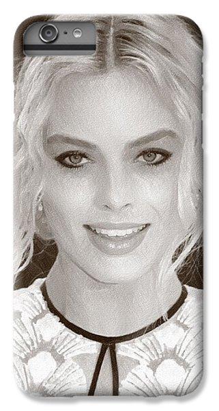 Actress Margot Robbie IPhone 6s Plus Case by Best Actors