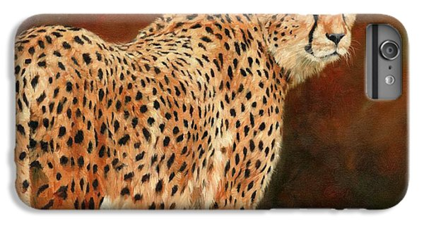 Cheetah IPhone 6s Plus Case by David Stribbling