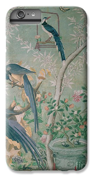 A Pair Of Magpie Jays  Vintage Wallpaper IPhone 6s Plus Case by John James Audubon