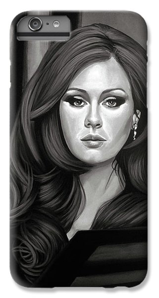 Adele Mixed Media IPhone 6s Plus Case by Paul Meijering