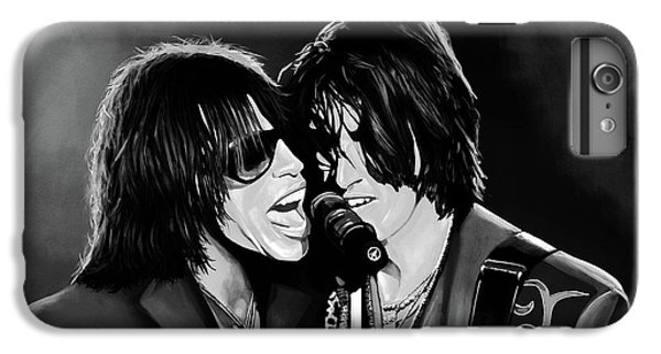 Aerosmith Toxic Twins Mixed Media IPhone 6s Plus Case by Paul Meijering
