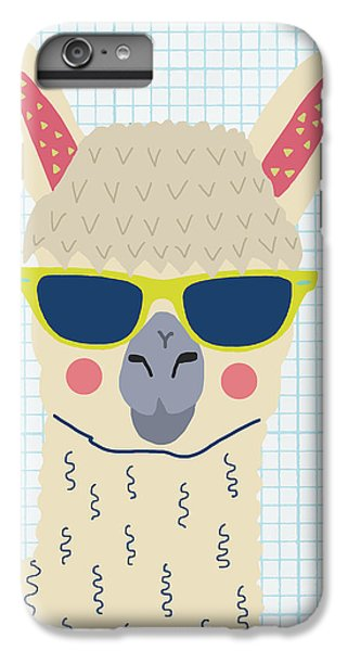 Alpaca IPhone 6s Plus Case by Nicole Wilson