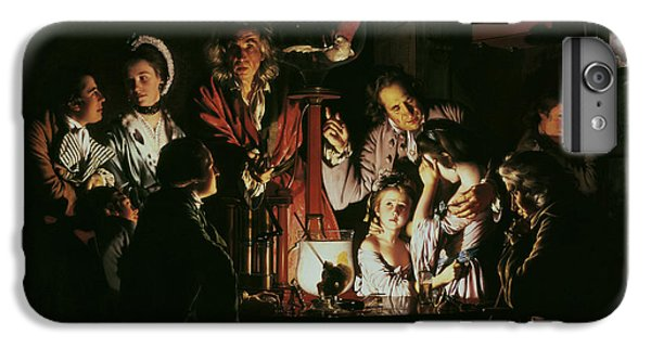 An Experiment On A Bird In The Air Pump IPhone 6s Plus Case by Joseph Wright of Derby