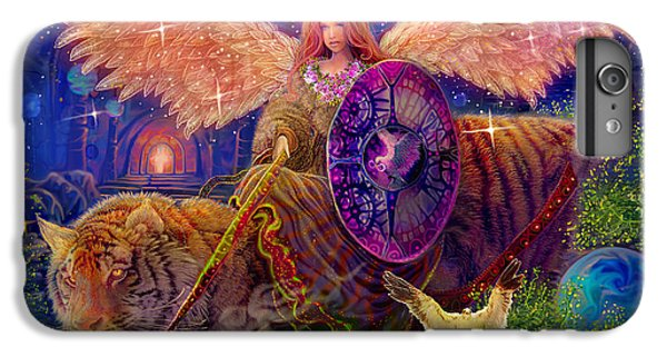 Angel Tarot Card Angel Fairy Dream IPhone 6s Plus Case by Steve Roberts