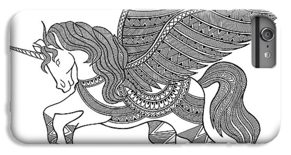 Animal Unicorn IPhone 6s Plus Case by Neeti Goswami