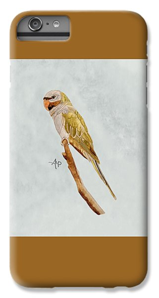 Derbyan Parakeet IPhone 6s Plus Case by Angeles M Pomata