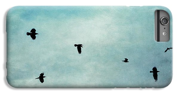 As The Ravens Fly IPhone 6s Plus Case by Priska Wettstein