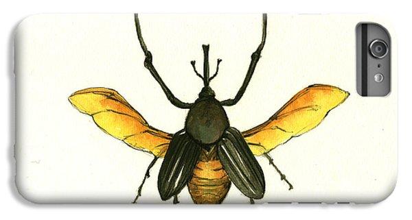 Bamboo Beetle IPhone 6s Plus Case by Juan Bosco