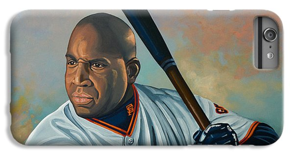 Barry Bonds IPhone 6s Plus Case by Paul Meijering