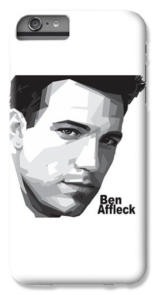 Ben Affleck Portrait Art IPhone 6s Plus Case by Madiaz Roby
